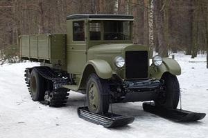 Ретро автомобиль ЗИС-33