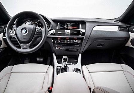 Салон кроссовера BMW X4