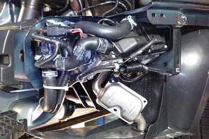 Система подогрева двигателя Lada Priora