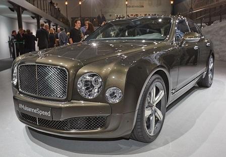 Bentley Mulsanne Speed на Парижском Автосалоне 2014