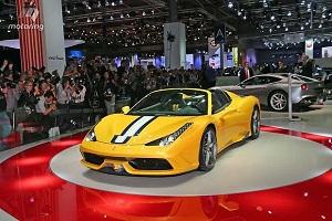 Ferrari 458 Speciale A на Парижском Автосалоне 2014