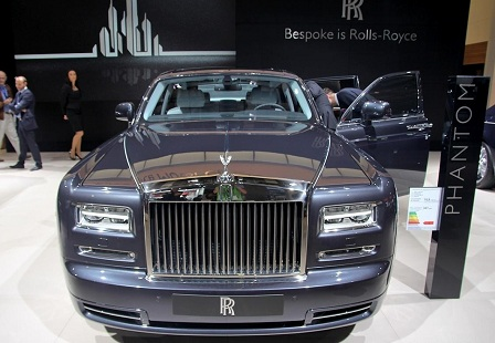 Rolls-Royce Phantom Metropolitan Collection в Париже 2014