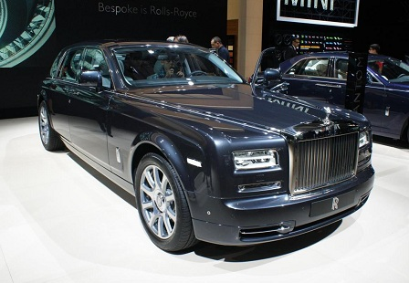 Rolls-Royce Phantom Metropolitan Collection на Парижском Автосалоне 2014