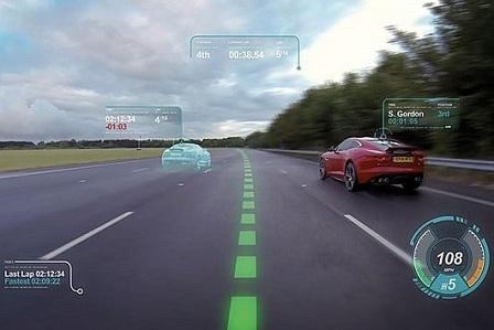 Интерактивное лобовое стекло