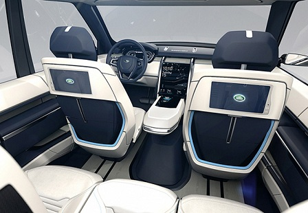 Концепт Land Rover Discovery Vision 2015