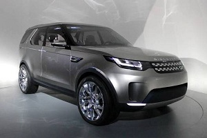 Концепт Land Rover Discovery Vision
