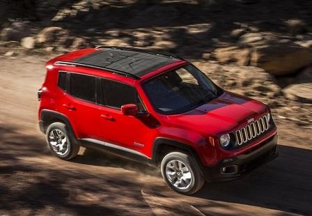 Кроссовер Jeep Renegade 2015 года