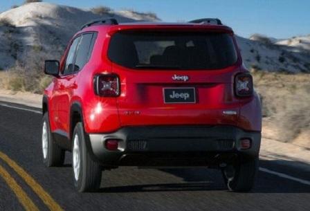 Кроссовер Jeep Renegade 2015