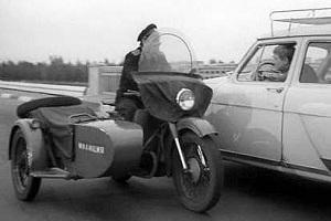 Мотоцикл Урал из к.ф Берегись автомобиля