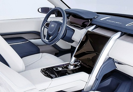 Салон Land Rover Discovery Vision 2015