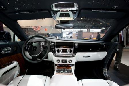 Салон Rolls-Royce Wraith