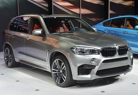 BMW X5M на Автосалоне в Лос-Анджелесе 2014