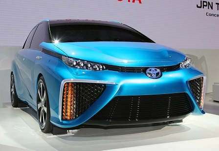 Toyota Mirai на Автосалоне в Лос-Анджелесе 2014