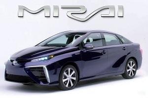 Mirai - автомобиль на водородном топливе