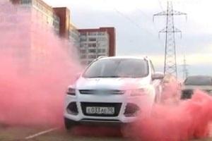 Автосигнализация с дымом