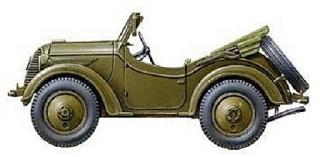 Джип Kurogane Type 95 (2)