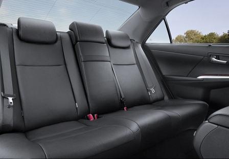 Задний ряд Toyota Camry 2014
