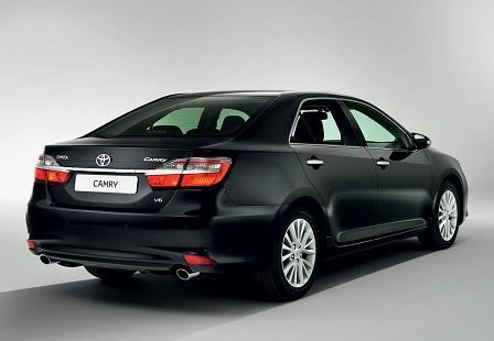 Новая Toyota Camry 2014