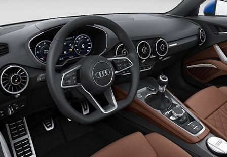 Салон Audi TT 2014 года