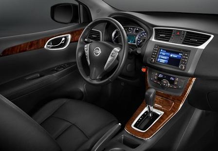 Салон Nissan Sentra 2014