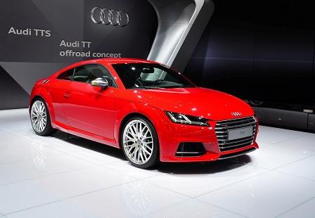 Audi TTS 3 поколения