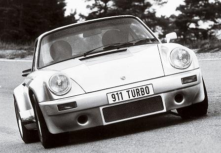 Porsche 911 Turbo 1975 года