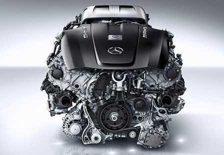 Двигатель Mercedes-AMG GT 1