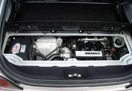 Двигатель Smart Brabus