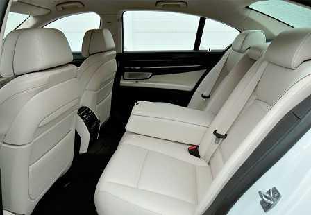 Салон BMW 750Li xDrive