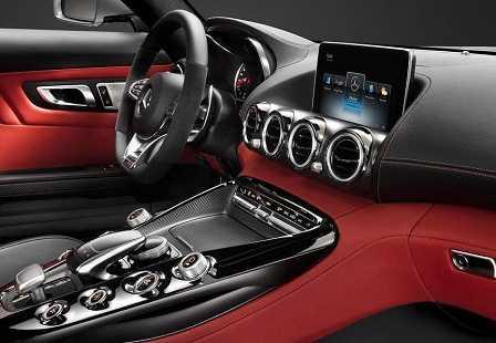 Салон Mercedes-AMG GT (2)