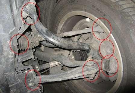 Неисправности подвески BMW X5