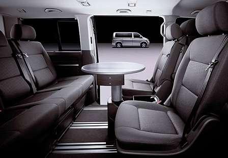 Салон Volkswagen Multivan