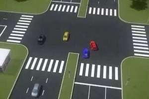 Безопасный поворот налево