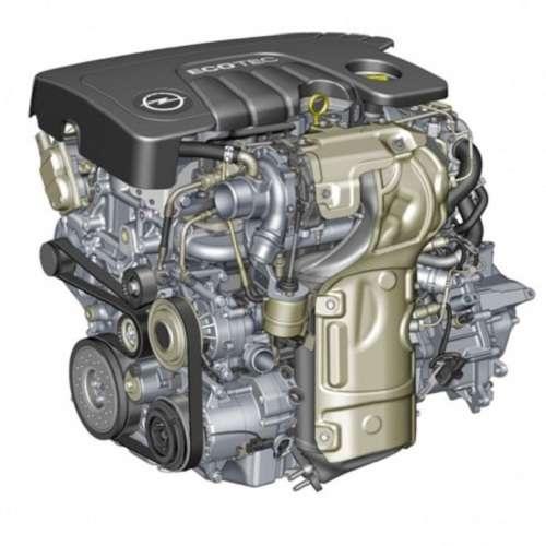 Дизельный двигатель 1,6 Опель Мокка 2015 года