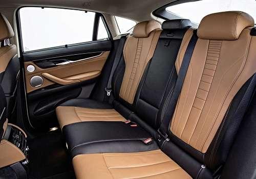 Задний ряд BMW X6 2015