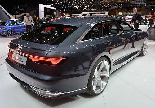 Концепт Audi Prologue Avant на Женевском Автосалоне 2015