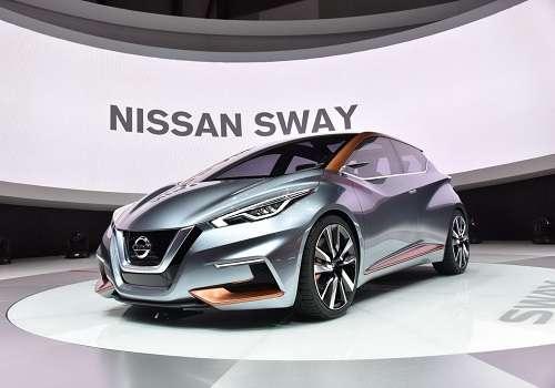 Концепт Nissan Sway на Женевском Автосалоне 2015 года