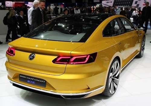Концепт Volkswagen Passat на Женевском Автосалоне 2015
