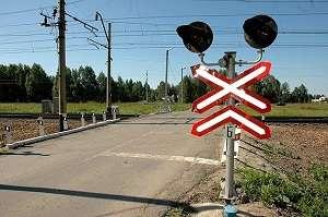 Проезд железнодорожного переезда