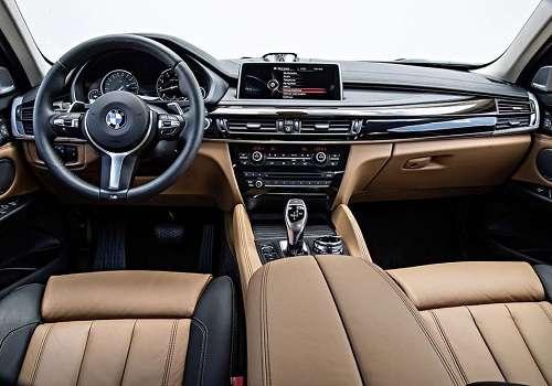 Салон BMW X6 2015 года