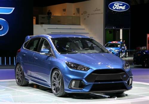 Ford Focus RS на Женевском Автосалоне 2015