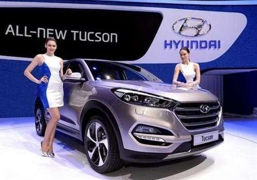 Hyundai Tucson на Женевском Автосалоне 2015