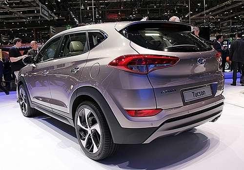 Hyundai Tucson на Женевском Автосалоне