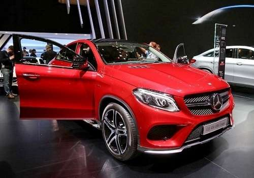 Mercedes-Benz GLE на Женевском Автосалоне 2015