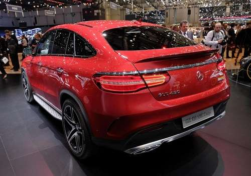 Mercedes-Benz GLE на Женевском Автосалоне