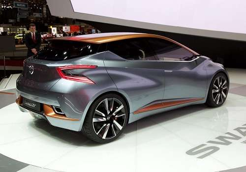 2015 Nissan Sway Concept. More on http://avtolog.com/albums/2015/03/04/nissan-sway-concept-geneva-2015/