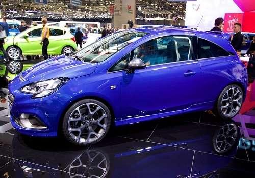 Opel Corsa OPS на Женевском Автосалоне 2015