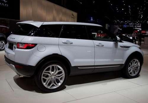 Range Rover Evoque на Женевском Автосалоне