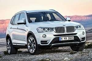 Обновленный BMW X3 2015 года