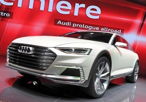 Audi Prologue Allroad на Шанхайском автосалоне 2015